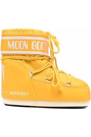 Moon Boot Bottines lacées à logo imprimé