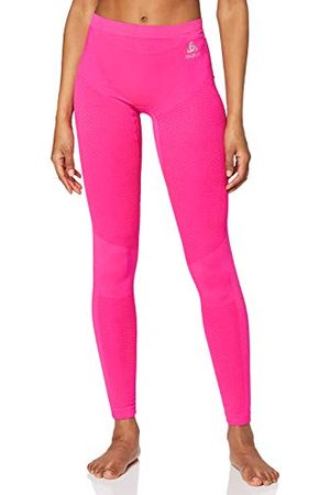 Odlo Essentials Warm Collant Femme, Pink Glo, FR : S (Taille Fabricant : S)
