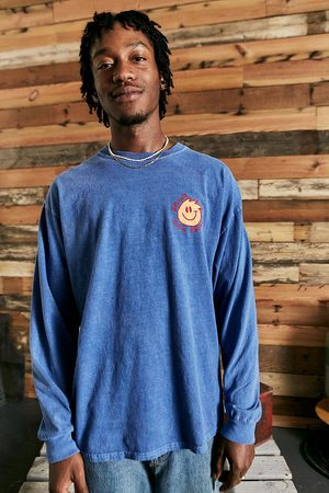 Urban Outfitters Homme Manches longues - UO - T-shirt Good Energy délavé