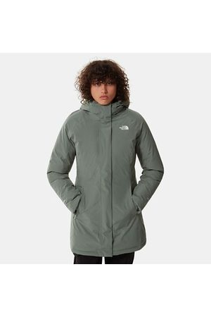 The North Face Parka Brooklyn Pour Femme Laurel Wreath Green Taille L