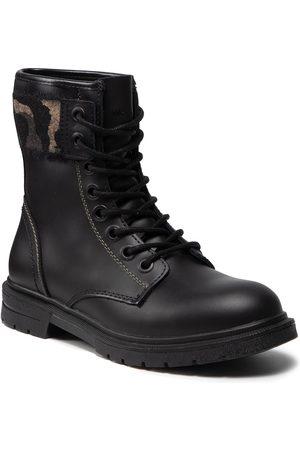 Wrangler Femme Bottines - Bottines - Spike Punk WL12564A Black/Military 298