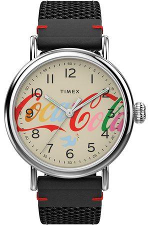 Timex Homme Montres - Montre - Standard TW2V26000 Black/Silver