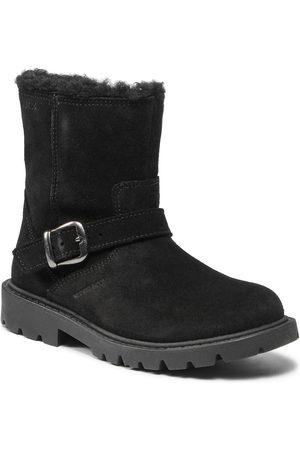 Geox Fille Bottes de neige - Bottes de randonnée - J Shaylax G. J16EYD 00022 C9999 S Black