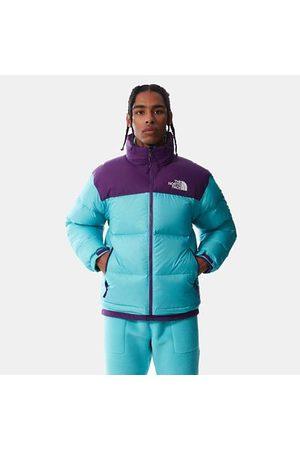 The North Face Veste Compactable 1996 Retro Nuptse Pour Homme Transantarctic Blue-gravity Purple Taille L