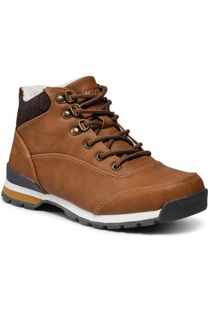 Hi-Tec Chaussures de trekking - Ladivi Mid AVSAW21-HT-CN-01 Camel/Dark Brown/Beige