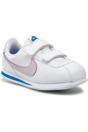 NIKE Chaussures - Cortez Basic Sl (PSV) 904767 108 White/Iced Lilac Soar