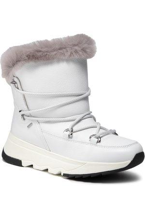 Geox Bottes de neige - D Falena B Abx C D16HXC 046BX C0284 White/Grey