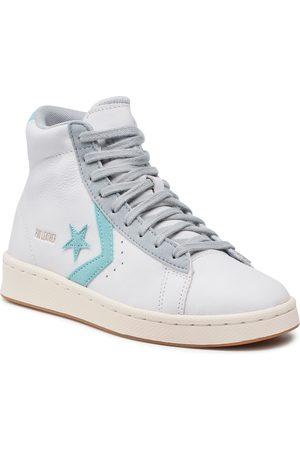 Converse Sneakers - Pro Leather Hi 171607C White/Soft Aloe/Ash Stone