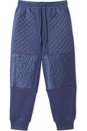 Burberry Pantalon de jogging à empiècements matelassés
