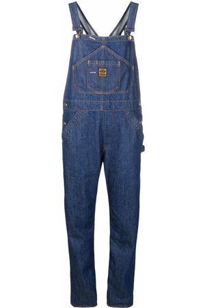 WASHINGTON DEE CEE Salopette en jean à patch logo