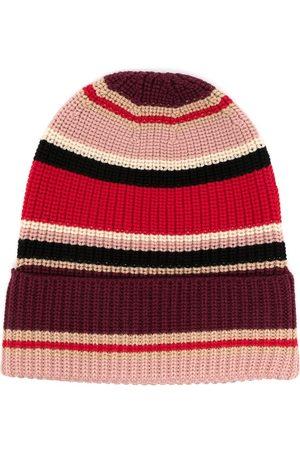 Ports V Bonnet en laine à rayures