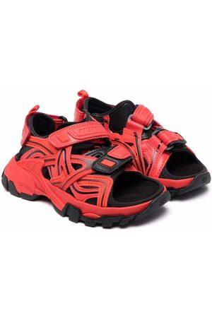 Balenciaga Open toe track-style sandals