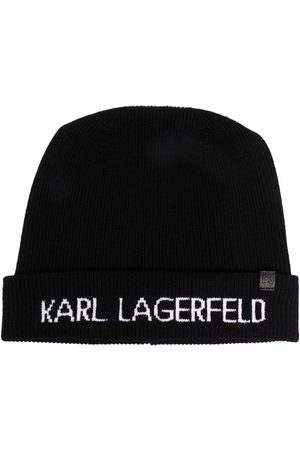 Karl Lagerfeld Bonnet à logo imprimé