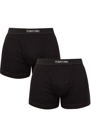 Tom Ford Homme Boxers - Ensemble de deux boxers en coton mélangé