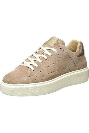 Buffalo Femme Chaussures - Rocco, Basket Femme, Taupe, 40 EU