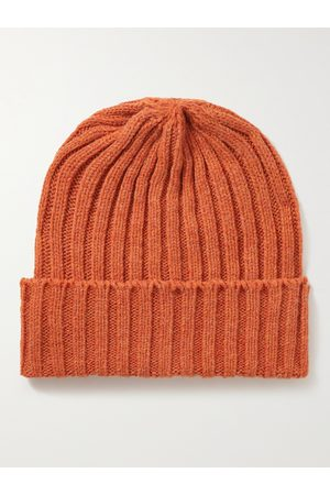 Beams Homme Bonnets - Ribbed Wool Beanie