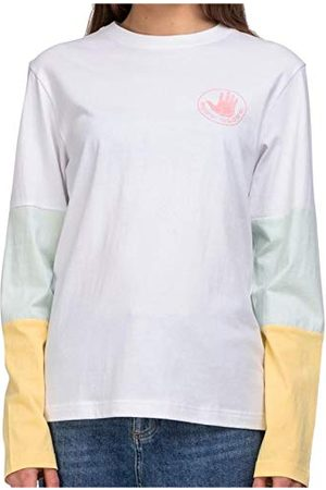 Body Glove Top Logo Panel L/S Tee T-Shirt Manches Longues Femme M