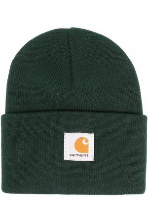 Carhartt WIP Logo-patch knitted beanie