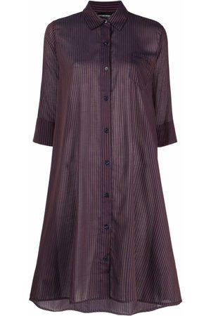 Emporio Armani Femme Robes imprimées - Striped beah dress