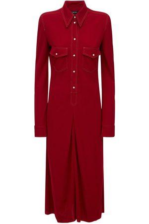 "Isabel Marant Femme Robes business - Robe Chemise Midi En Jersey ""lonaki"""