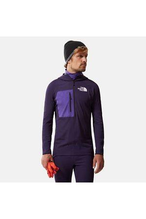 The North Face Femme Pulls - Pull Demi-zippé Amk L2 Futurefleece Black Cherry Purple Taille L