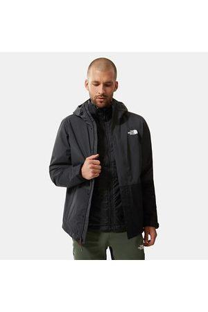 The North Face Veste Triclimate À Isolation Synthétique Pour Homme Asphalt Grey/tnf Black Taille L