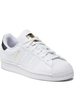 adidas Chaussures - Superstar J Q47342 Ftwwht/Cblack/Goldmt