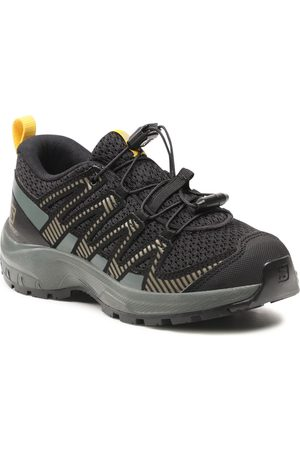 Salomon Chaussures de trekking - Xa Pro V8 J 414361 09 W0 Black/Urban Chic/Sulphur