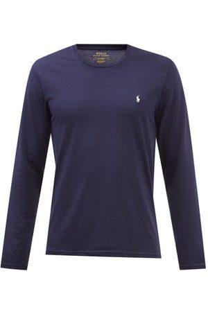 Polo Ralph Lauren Homme Polos - Haut de pyjama en jersey de coton à broderie logo