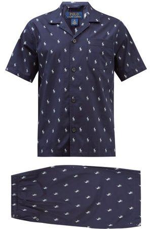 Polo Ralph Lauren Pyjama en popeline de coton à imprimé logo