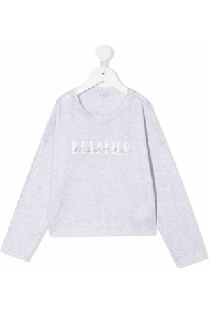 Brunello Cucinelli Fille Sweatshirts - Sweat à logo