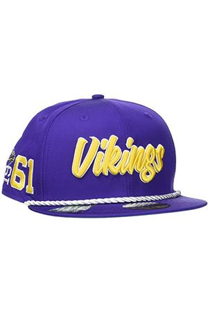 New Era Minnesota Vikings Official NFL Sideline Home 59Fifty Fitted Cap Casquette, Moyen, 6 7/8