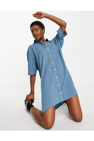 Fred Perry Robe chemise oversize