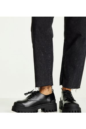 ASOS Mayan - Chaussures plates chunky pointure large à lacets
