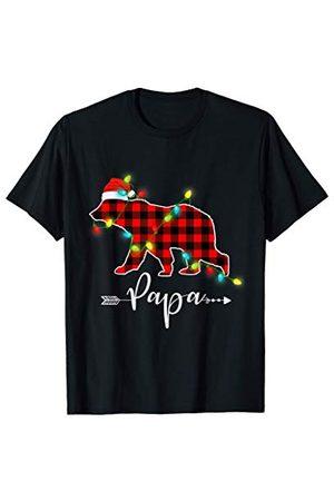 Papa Bear Mama Bear Noël Ours Cadeaux Homme Papa Bear Noël Pyjama Papa Cadeau de Noël Ours T-Shirt
