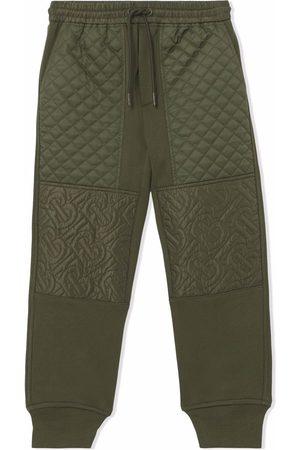 Burberry Garçon Joggings - Pantalon de jogging à motif monogrammé