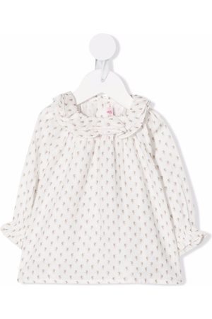 BONPOINT Fille Chemisiers - Floral-print ruffled blouse