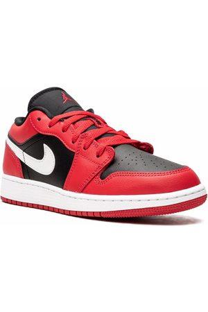 "Jordan Kids Garçon Baskets - Air Jordan Low sneakers ""Black / Very Berry"""