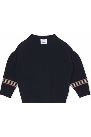 Burberry Pull à rayures Icon