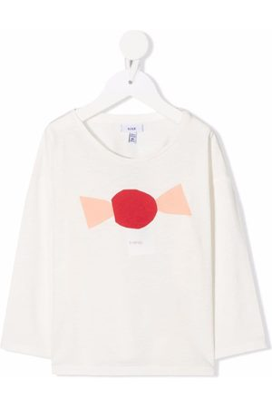 KNOT Fille Manches longues - T-shirt A Candy à manches longues