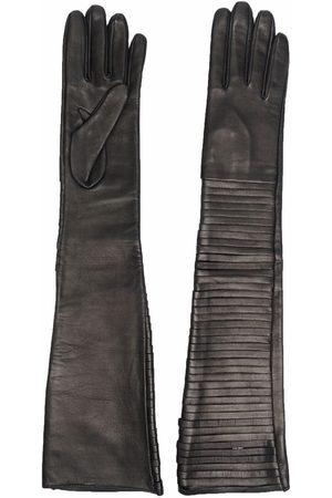 Manokhi Femme Gants - Gants à coupe longue