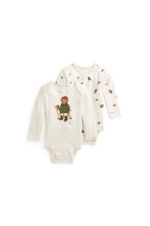 Ralph Lauren Bébé Bodys bébé - Deux bodys bébé Polo Bear en coton
