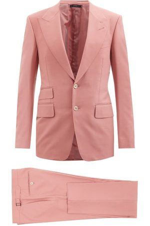 Tom Ford Homme Costumes - Costume en toile à boutonnage simple Shelton