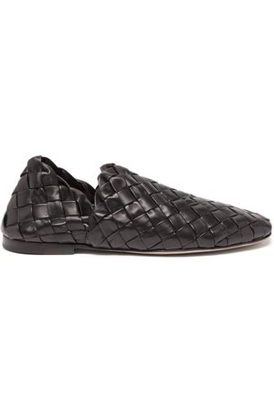 Bottega Veneta Chaussures plates en cuir intrecciato Lagoon