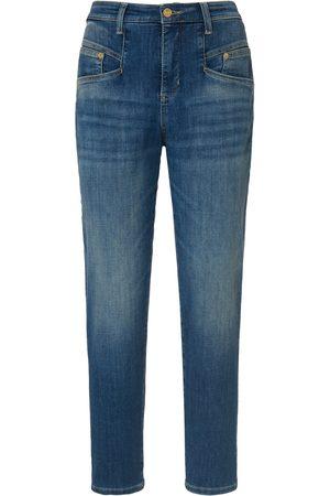 Mac Femme Jeans - Le jean 7/8 modèle rich carrot denim