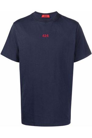 424 FAIRFAX Homme Débardeurs - T-shirt à logo brodé