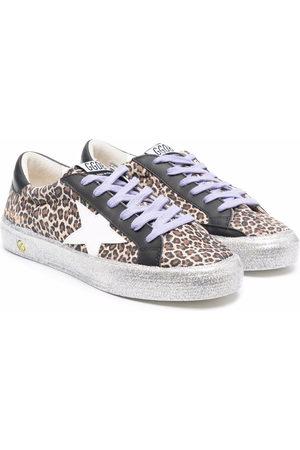 Golden Goose May leopard sneakers