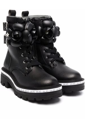 Liu Jo Fille Bottines - Tailor lace-up ankle boots