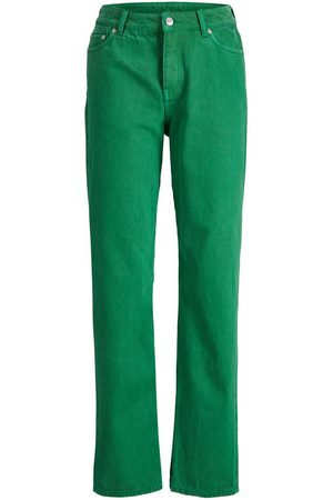 JACK & JONES Homme Coupe droite - Jxseoul Mw Jeans Akm Jean Droit Women green