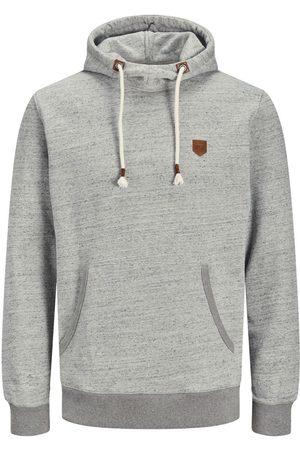 JACK & JONES Homme Sweatshirts - Envers Bouclé, Cordon De Serrage Sweat À Capuche Men grey